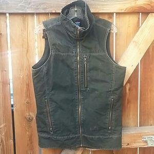 Kuhl outdoor vest vintage patina dye size small
